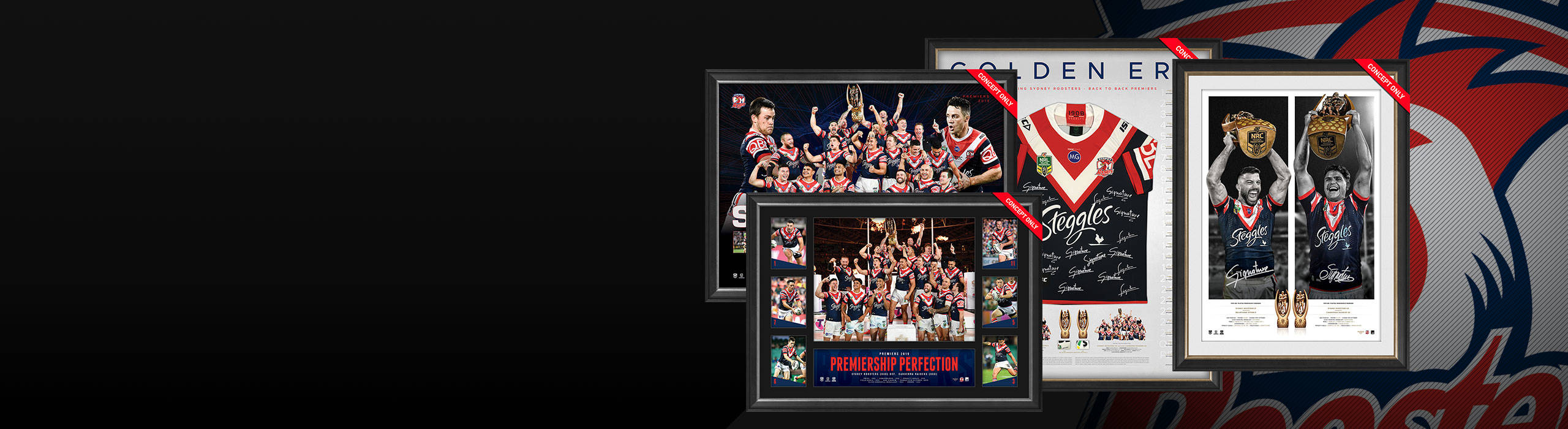 SYDNEY ROOSTERS 2019 PREMIERS