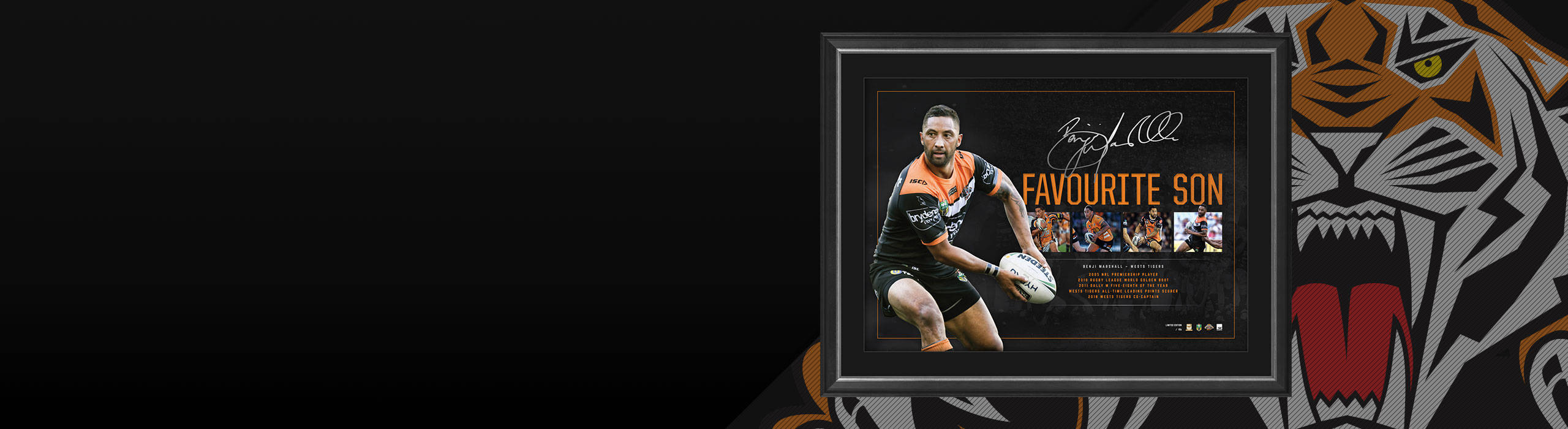 BENJI MARSHALL FAVOURITE SON