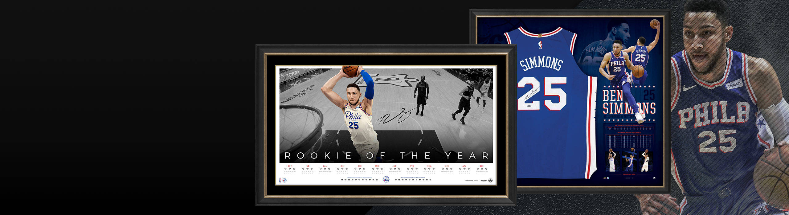 BEN SIMMONS ROOKIE OF THE YEAR