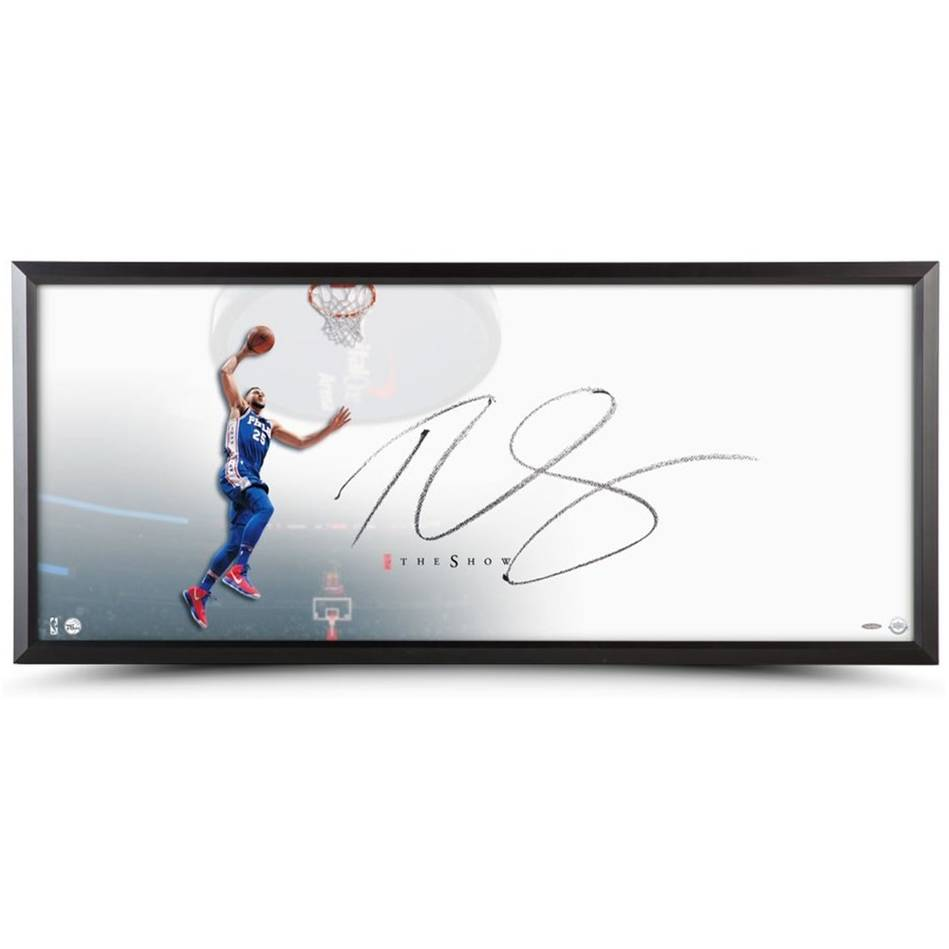 mainBen Simmons Signed 'The Show'0