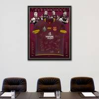 Queensland Maroons 2018 State of Origin Squad Signed Jersey1