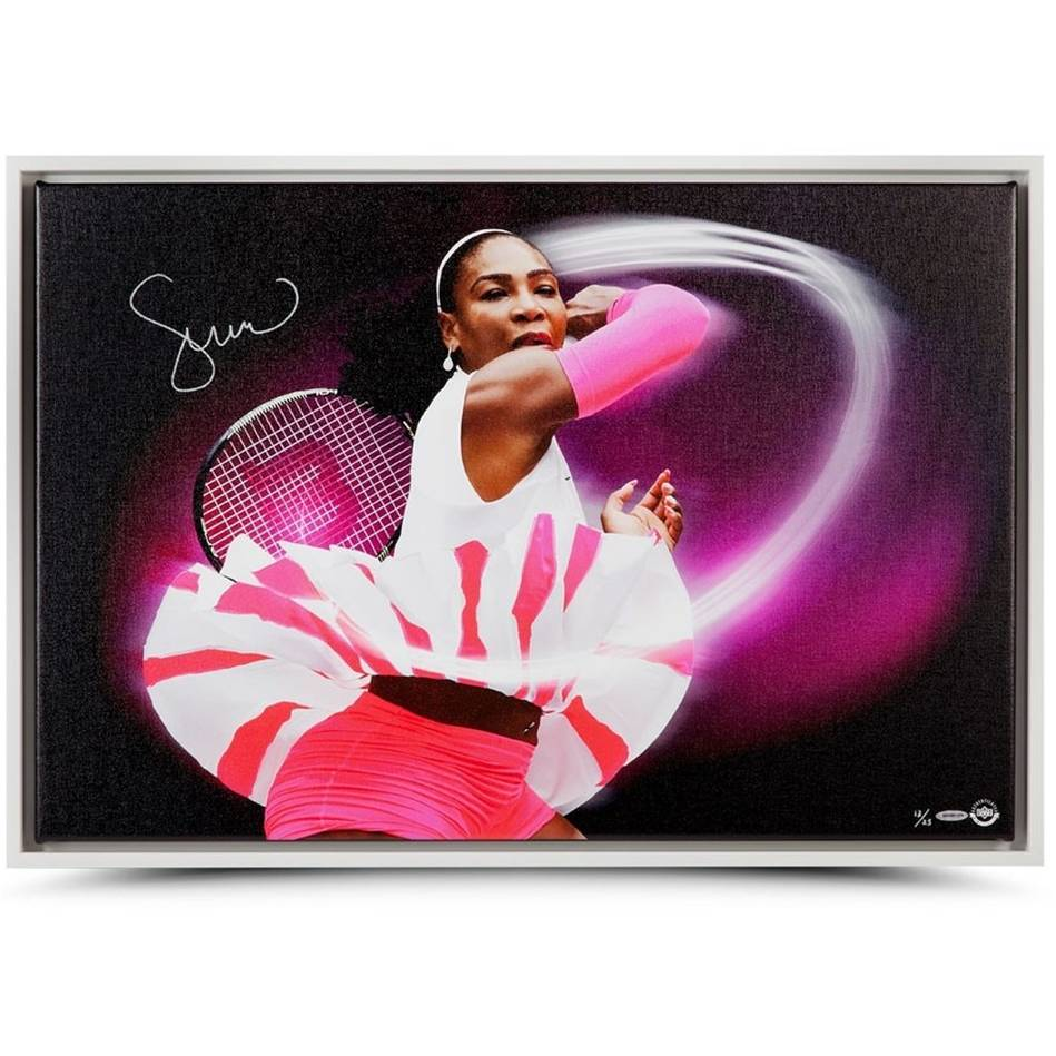mainSerena Williams Signed 'Pioneer'0