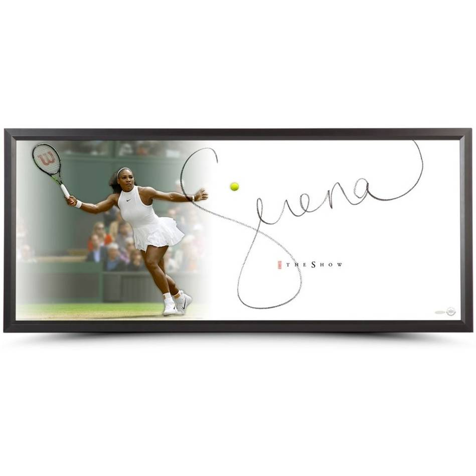 mainSerena Williams Signed 'The Show'0