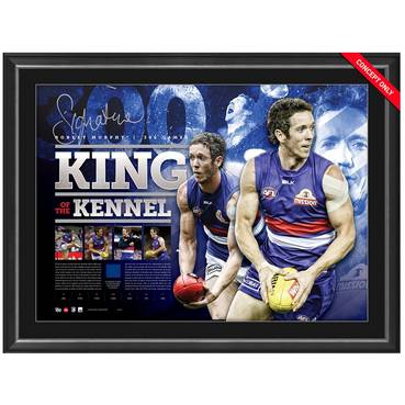 BOB MURPHY SIGNED 'KING OF THE KENNEL'