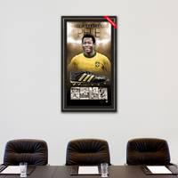 Pele Signed Boot Display1