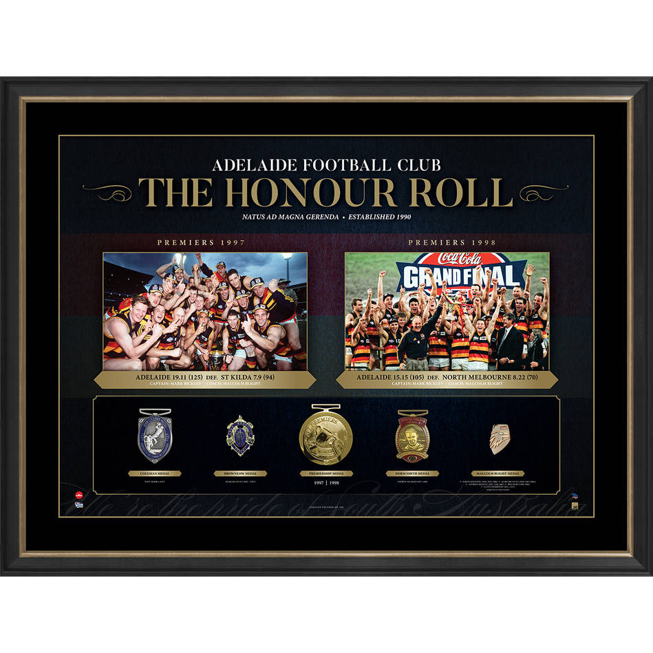 ADELAIDE CROWS 'THE HONOUR ROLL'0