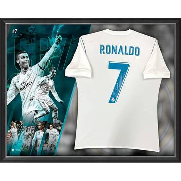 Cristiano Ronaldo Signed Real Madrid Jersey