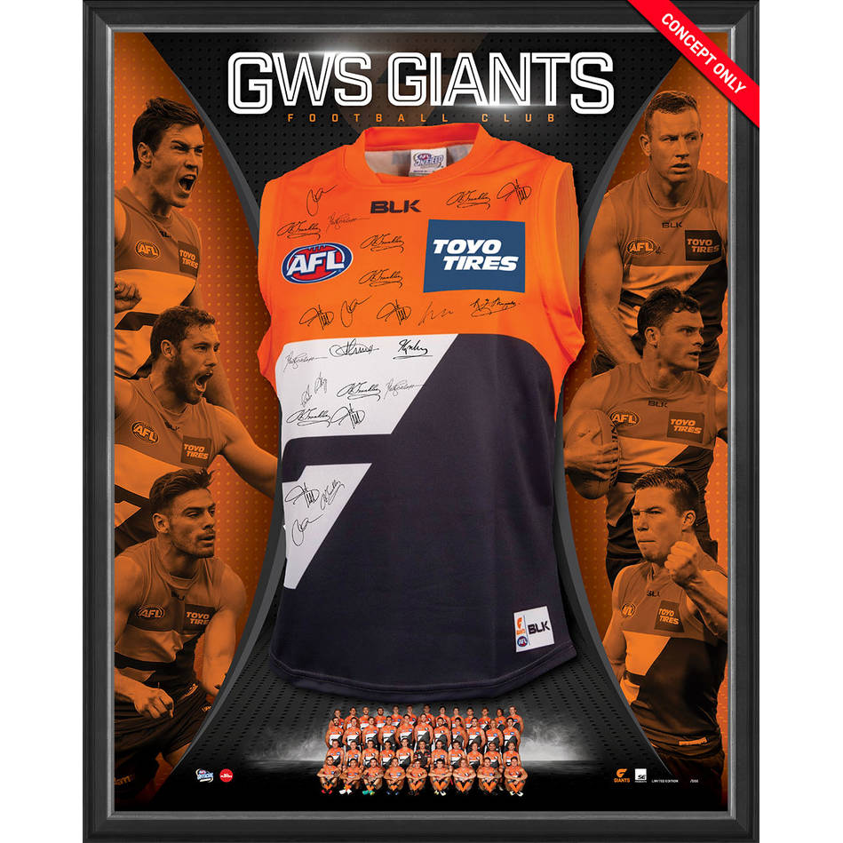 mainGWS GIANTS TEAM SIGNED 2017 GUERNSEY0