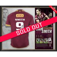 Cameron Smith Signed QLD Maroons Retirement Jersey0