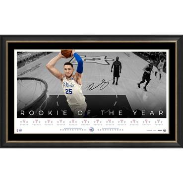 Ben Simmons Signed 'Rookie of the Year'
