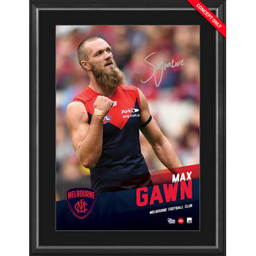 MAX GAWN SIGNED VERTIRAMIC
