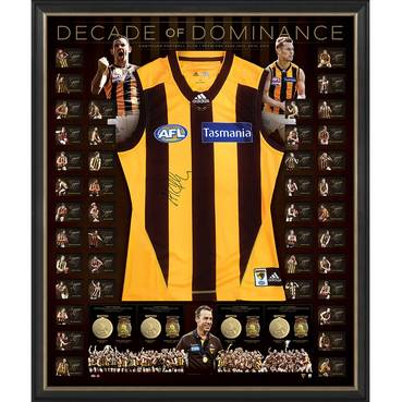 Hawthorn 'Decade of Dominance' Signed Deluxe Guernsey