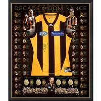 Hawthorn 'Decade of Dominance' Signed Deluxe Guernsey0