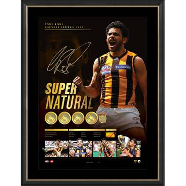 Cyril Rioli Signed 'Supernatural'