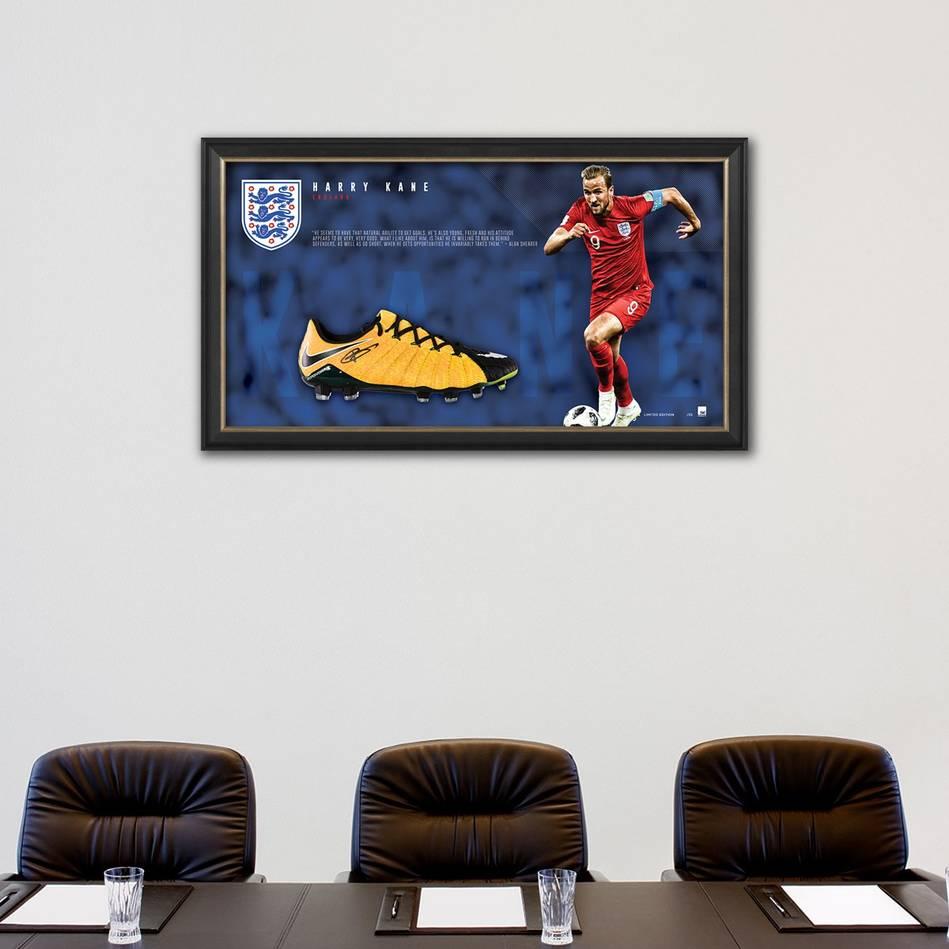 mainHarry Kane Signed Boot Display1