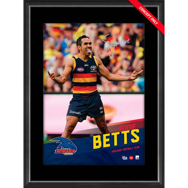 EDDIE BETTS SIGNED VERTIRAMIC