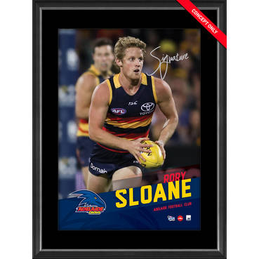 RORY SLOANE SIGNED VERTIRAMIC