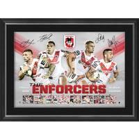 St George Illawarra Dragons Signed 'Enforcers'0