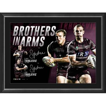 Manly Dual Signed 'Brothers in Arms'