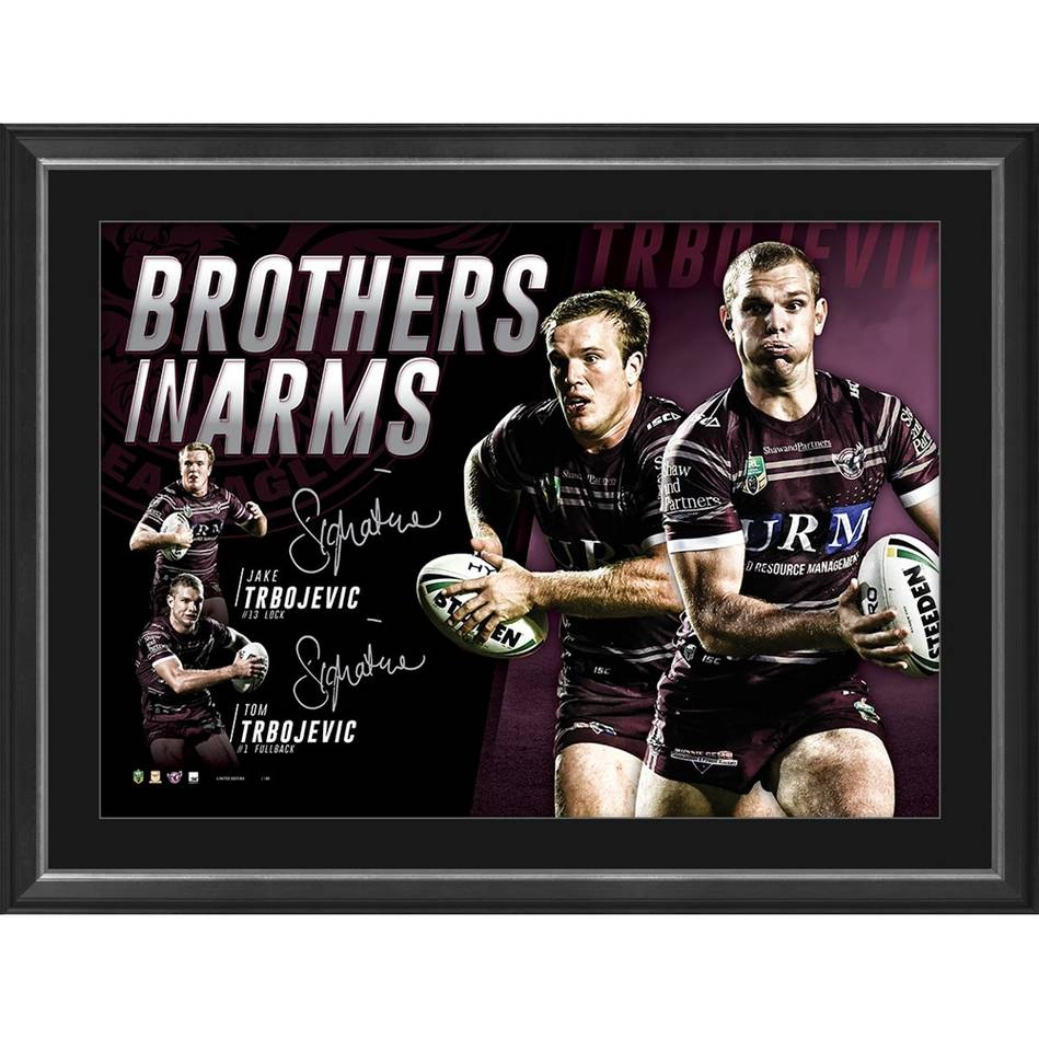mainManly Dual Signed 'Brothers in Arms'0
