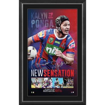 Kalyn Ponga Signed 'New Sensation'