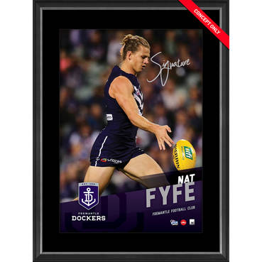 NAT FYFE SIGNED VERTIRAMIC
