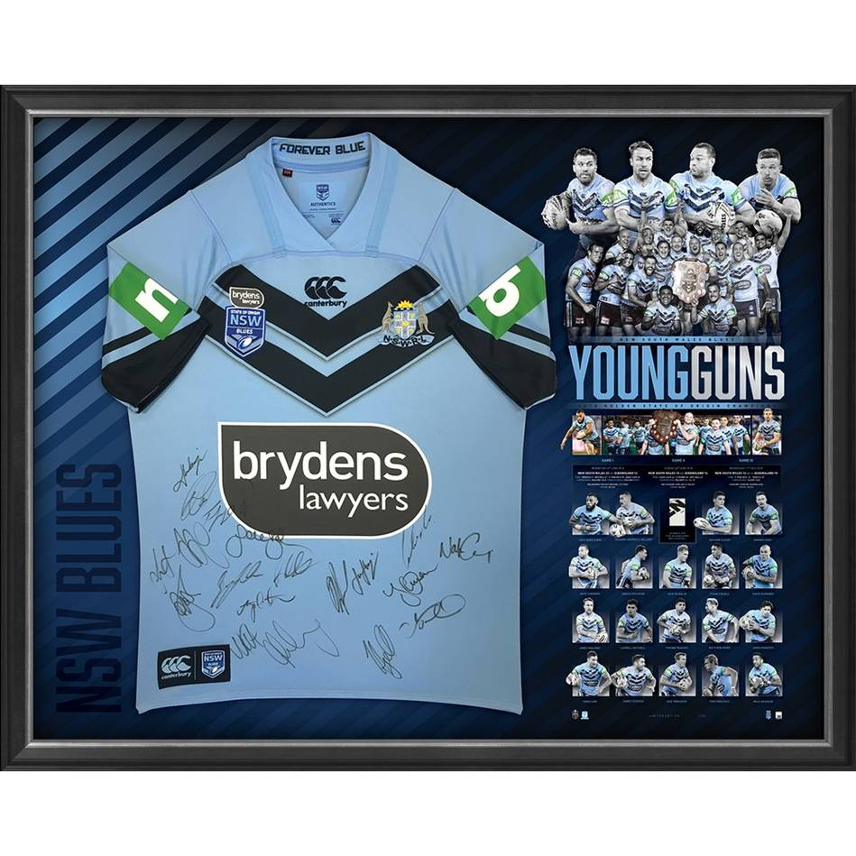 mainNSW Blues 2018 State of Origin Team Signed 'Young Guns'0