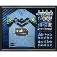 NSW Blues 2018 State of Origin Team Signed 'Young Guns'0