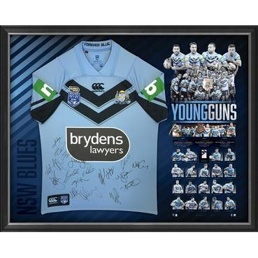 *Edition 1* NSW Blues 2018 Holden State of Origin Success Jersey