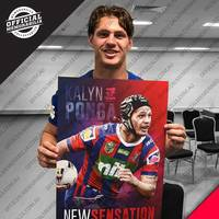 Kalyn Ponga Signed 'New Sensation'1