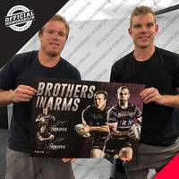 Manly Dual Signed 'Brothers in Arms'1