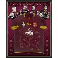 *Edition 1/50* Queensland Maroons 2018 State of Origin Squad Signed Jersey0