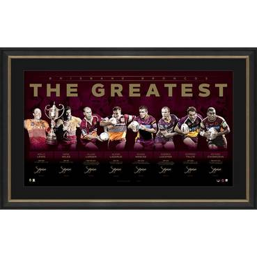 Brisbane Broncos Signed 'The Greatest'