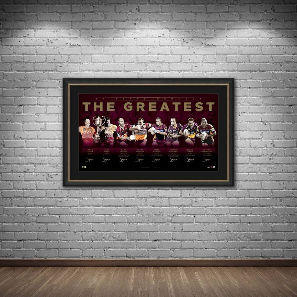 mainBrisbane Broncos Signed 'The Greatest'1