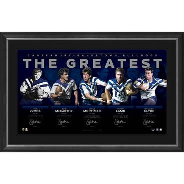 Canterbury-Bankstown Signed 'The Greatest'
