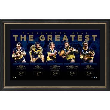 Parramatta Eels Signed 'The Greatest'