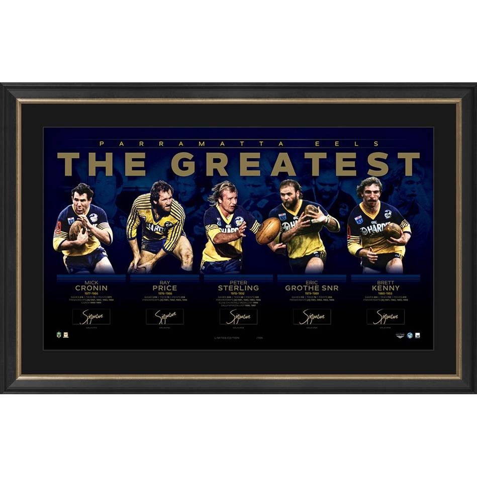 mainParramatta Eels Signed 'The Greatest'0
