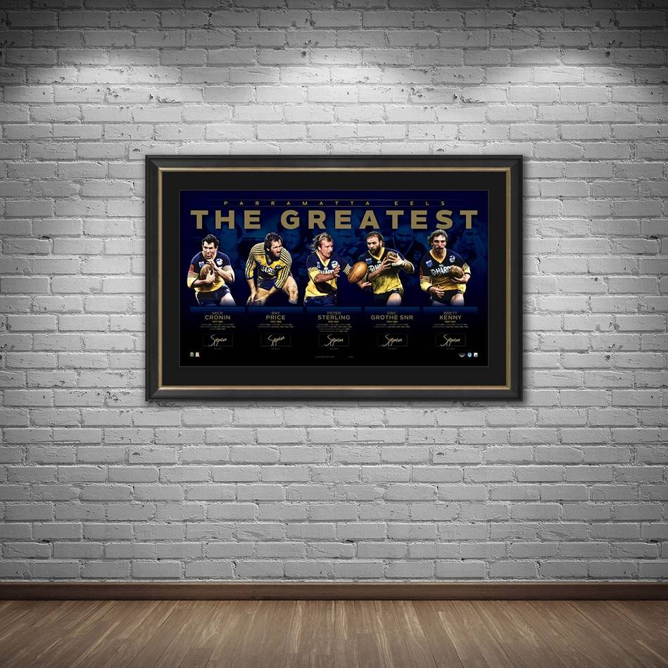 mainParramatta Eels Signed 'The Greatest'1