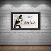 Mal Meninga Signed Canberra Raiders 'Immortal'1