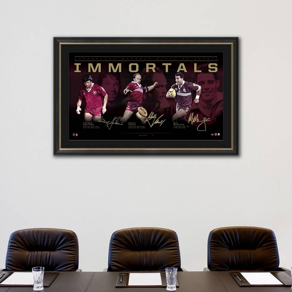 mainQueensland Maroons Signed  'Immortals'1