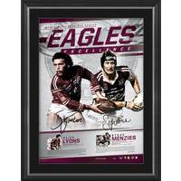 Manly Dual Signed 'Eagles Excellence'0