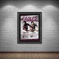 Manly Dual Signed 'Eagles Excellence'1