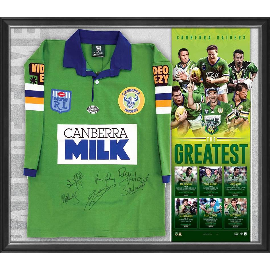 mainCanberra Raiders Signed 'The Greatest' Jersey0