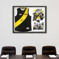 DUSTIN MARTIN SIGNED 'SEASON OF PERFECTION'1