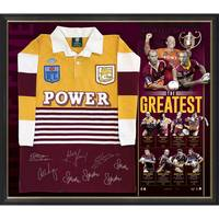Brisbane Broncos Signed 'The Greatest' Jersey0