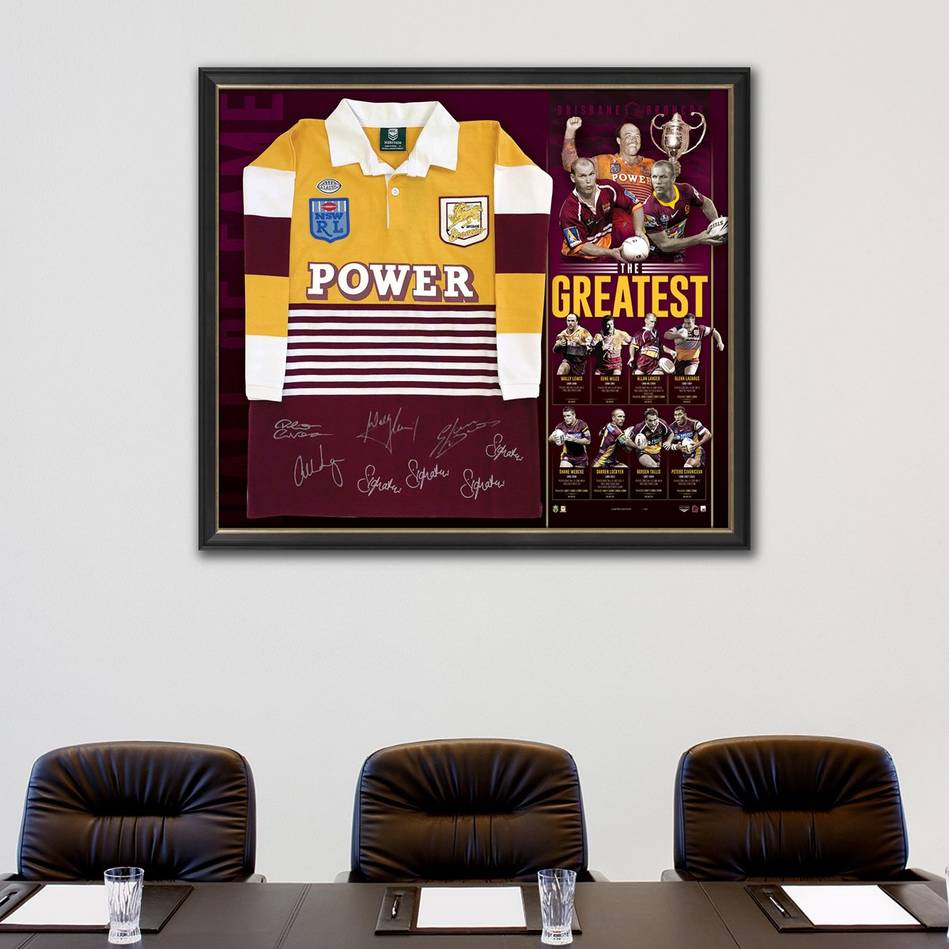 mainBrisbane Broncos Signed 'The Greatest' Jersey1