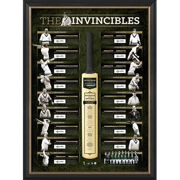 THE INVINCIBLES SIGNED DELUXE LITHOGRAPH