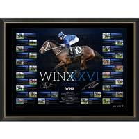 Winx Dual Signed 'Road to the Record'0