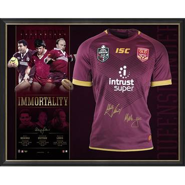Queensland Maroons Signed 'Immortality'