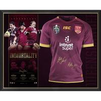 Queensland Maroons Signed 'Immortality'0